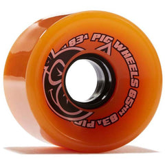 Pig Head Voyager - Orange - 65mm 83a - Skateboard Wheels (Set of 4)