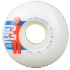 Girl Spike It! - White - 50mm - Skateboard Wheels (Set of 4)