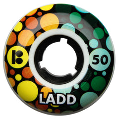 Plan B Ladd Eye Test - White - 50mm - Skateboard Wheels (Set of 4)