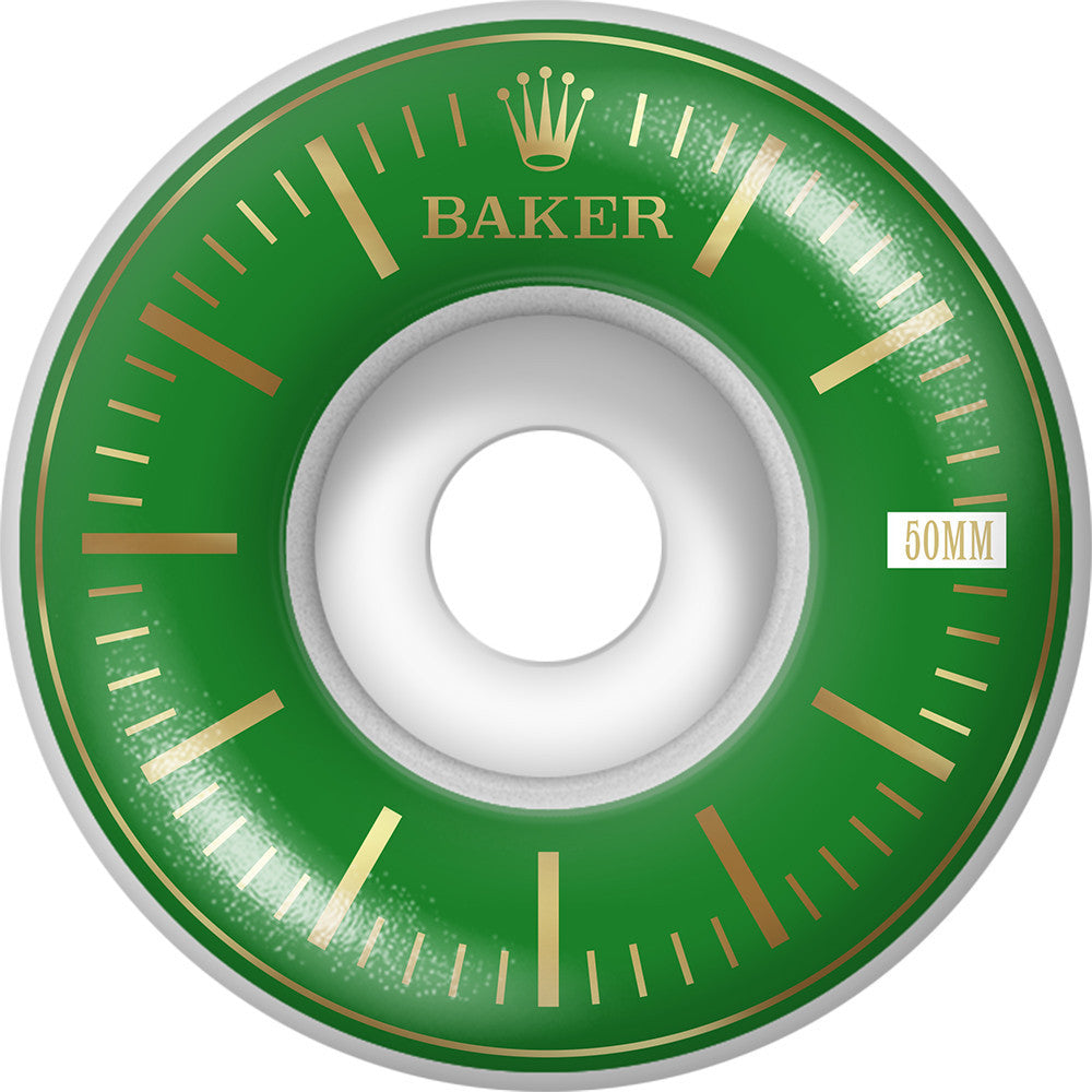 Baker Bolex - Green - 50mm - Skateboard Wheels (Set of 4)
