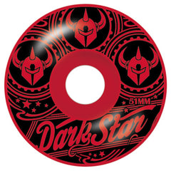 Darkstar Vintage - Red - 51mm - Skateboard Wheels (Set of 4)