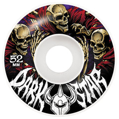 Darkstar Crusade - White - 52mm - Skateboard Wheels (Set of 4)