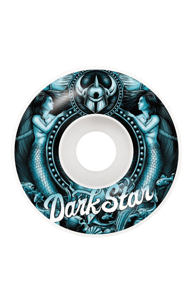 Darkstar Mermaid - Aqua/White - 53mm - Skateboard Wheels (Set of 4)