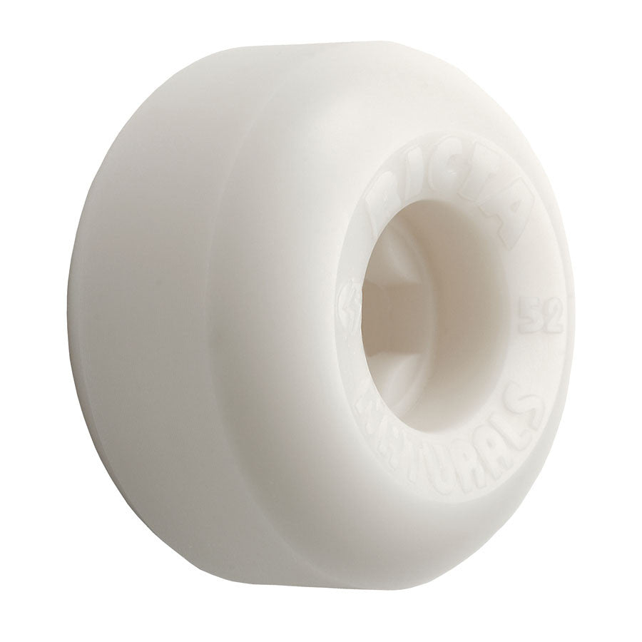 Ricta Natural - White - 55mm 81b - Skateboard Wheels (Set of 4)
