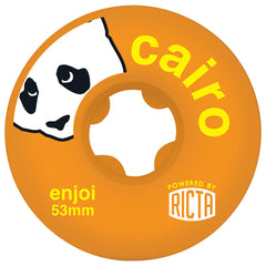 Ricta Enjoi Cairo SLIX - Orange - 53mm 81b - Skateboard Wheels (Set of 4)