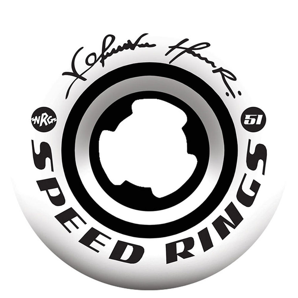 Ricta Kelvin Hoefler Pro Speedrings - White - 51mm 99a - Skateboard Wheels (Set of 4)
