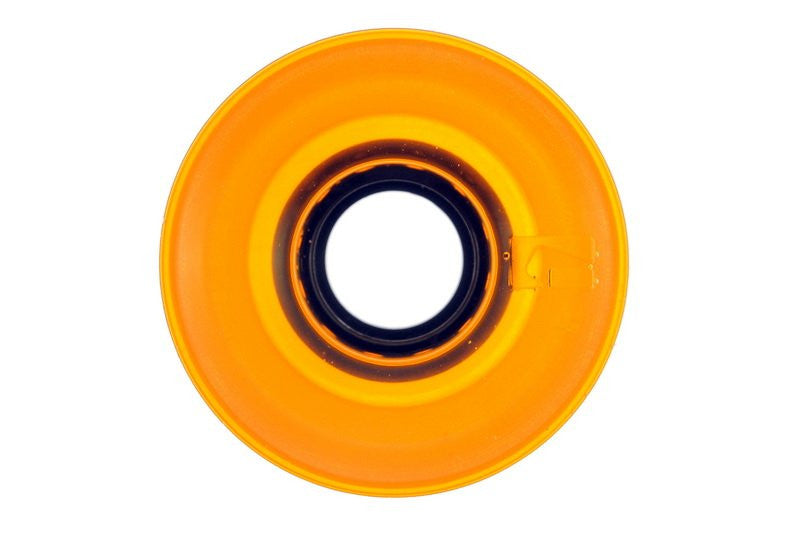Globe Bantam Wheel - Clear Amber - 62mm 83a - Skateboard Wheels (Set of 4)