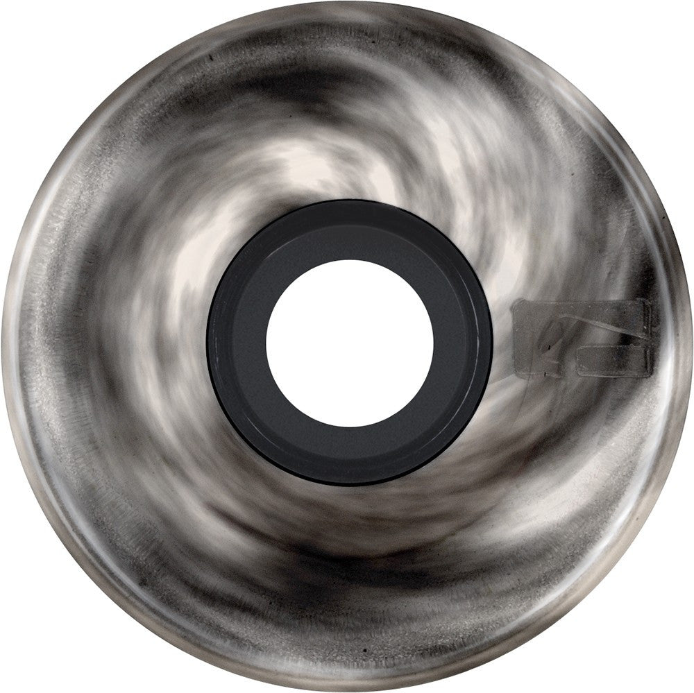 Globe Bantam Swirl Wheel - White/Black - 62mm 83a - Skateboard Wheels (Set of 4)