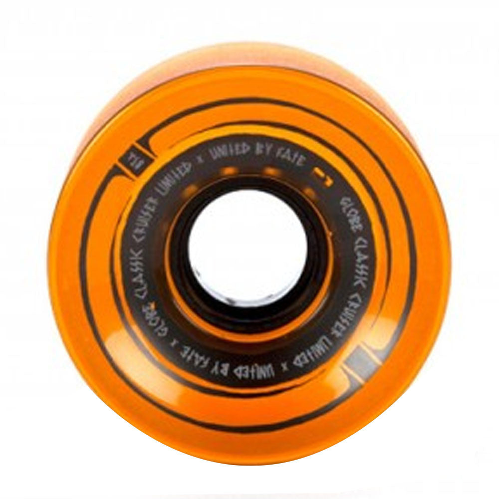 Globe Steam Roller - Amber - 65mm 83a - Skateboard Wheels (Set of 4)
