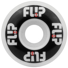 Flip Odyssey Logo - Black/White - 53mm 99a - Skateboard Wheels (Set of 4)