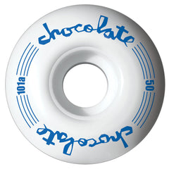 Chocolate Chunk Classic - White - 50mm - Skateboard Wheels (Set of 4)