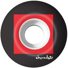 Chocolate Off Square - White - 53mm - Skateboard Wheels (Set of 4)