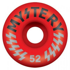 Mystery Victory - Red - 52mm - Skateboard Wheel (Set of 4)