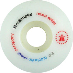 Autobahn Nexus - White - 50mm 100a - Skateboard Wheels (Set of 4)