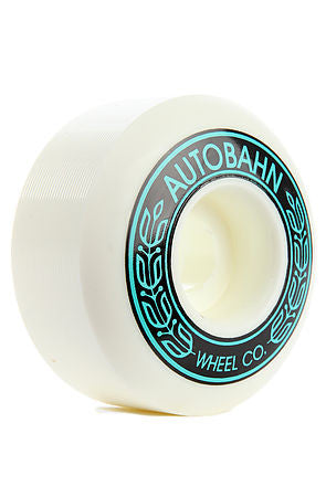 Autobahn AB-S - 56mm 99a - White - Skateboard Wheels (Set of 4)