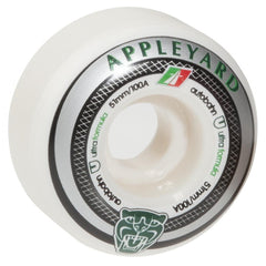 Autobahn Appleyard Big Cat - White - 53mm 100a - Skateboard Wheels (Set of 4)