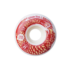 Autobahn Brezinski Swanski Collaboration - White - 52mm 100a - Skateboard Wheels (Set of 4)