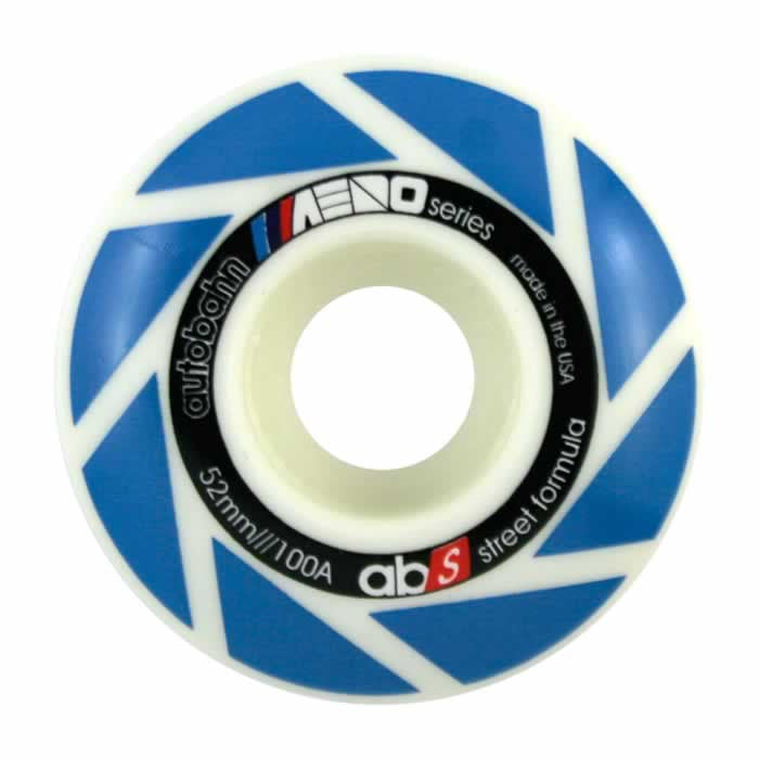 Autobahn Aero - White - 52mm 100a - Skateboard Wheels (Set of 4)