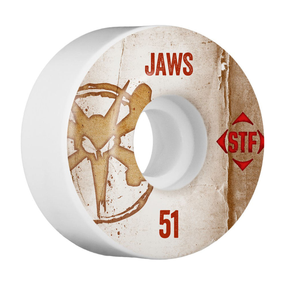 Bones STF Pro V1 Homoki Vintage - White - 51mm - Skateboard Wheels (Set of 4)
