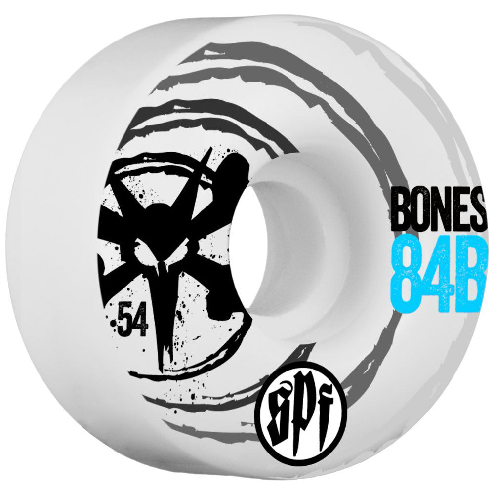 Bones SPF Sonic V4 - White - 54mm - Skateboard Wheels (Set of 4)