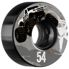 Bones ATF Mudder Fudder - Black - 54mm - Skateboard Wheels (Set of 4)