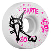 Bones STF Bartie Vato Op V3 - White - 50mm - Skateboard Wheels (Set of 4)