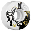 Bones STF Gustavo Bridge V1 - White - 50mm - Skateboard Wheels (Set of 4)