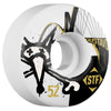 Bones STF Gustavo Bridge V1 - White - 52mm - Skateboard Wheels (Set of 4)