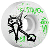 Bones STF Gustavo Vato Op V1 - White - 53mm - Skateboard Wheels (Set of 4)
