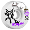 Bones STF Hoffart Movement V3 - White - 52mm - Skateboard Wheels (Set of 4)