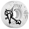 Bones STF Wray Vato Op V1 - White - 52mm - Skateboard Wheels (Set of 4)