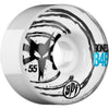 Bones SPF Sonic V4 - White - 55mm - Skateboard Wheels (Set of 4)
