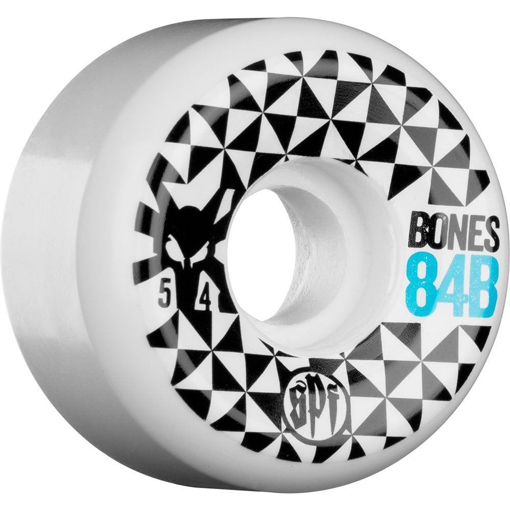 Bones SPF Trance - White - 54mm - Skateboard Wheels (Set of 4)