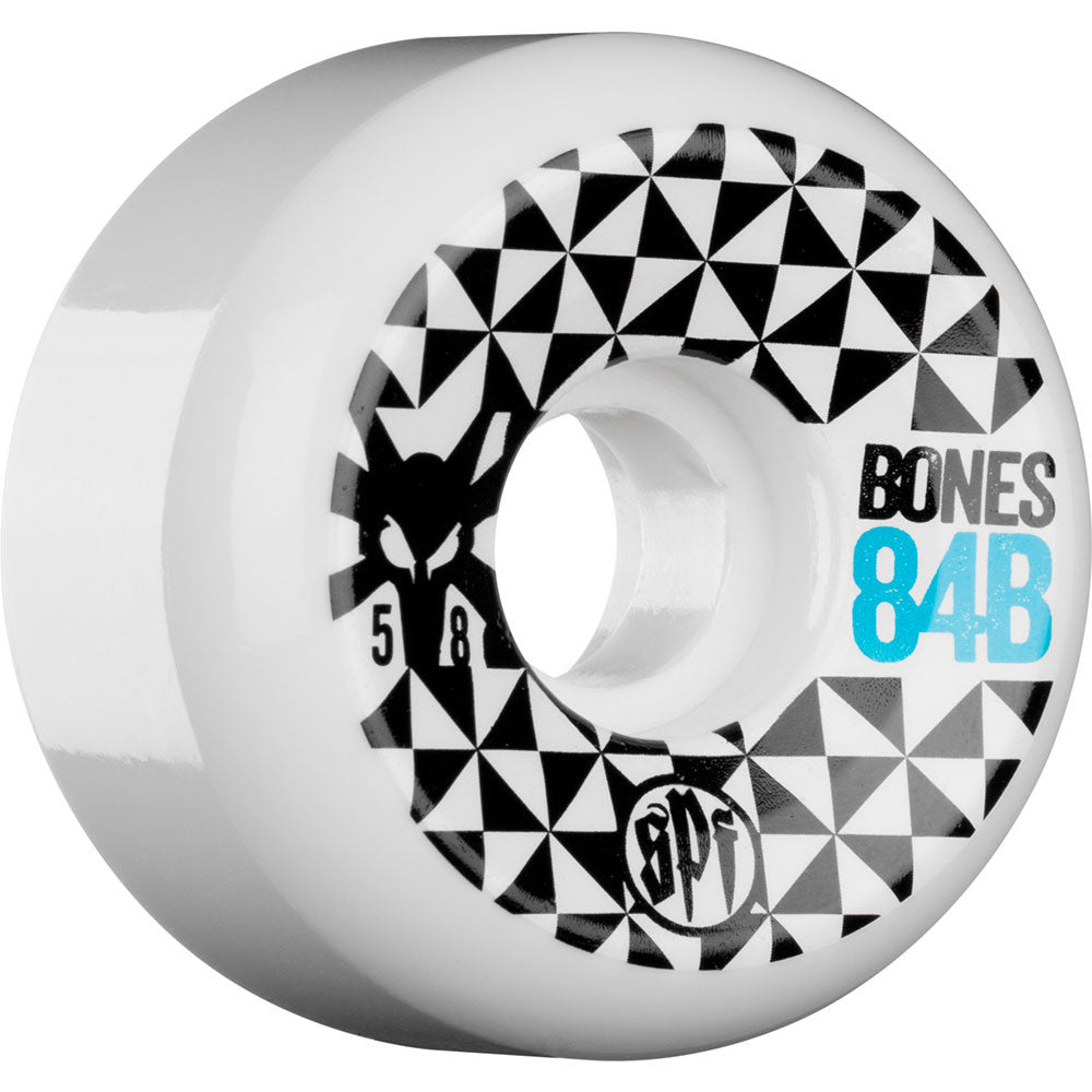 Bones SPF Trance - White - 58mm - Skateboard Wheels (Set of 4)