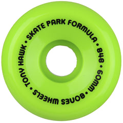 Bones SPF Pro Hawk Mini Cube - Green - 60mm 84b - Skateboard Wheels (Set of 4)