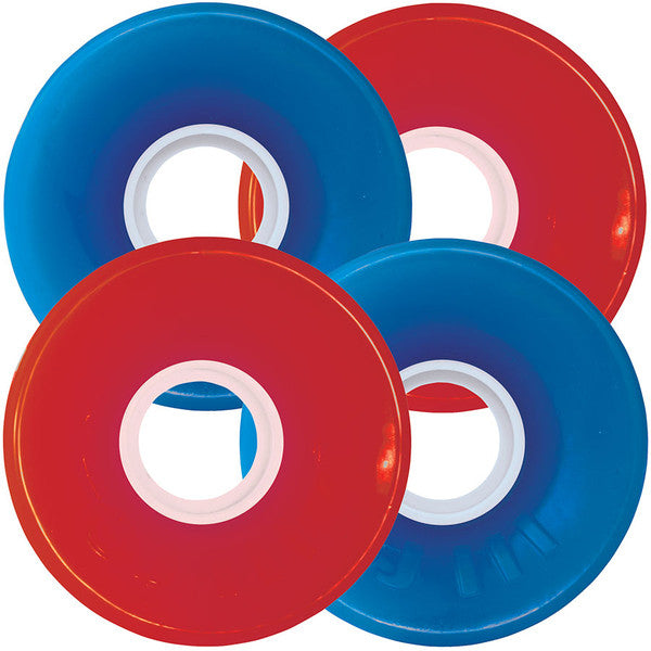 OJ Hot Juice Combo Pack - Red/Blue - 60mm 78a - Skateboard Wheels (Set of 4)