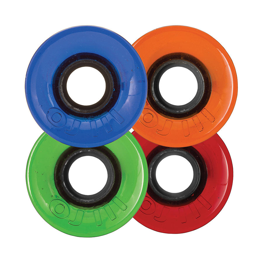 OJ Hot Juice Mini Candy - Red/Blue/Green/Orange - 55mm 78a - Skateboard Wheels (Set of 4)