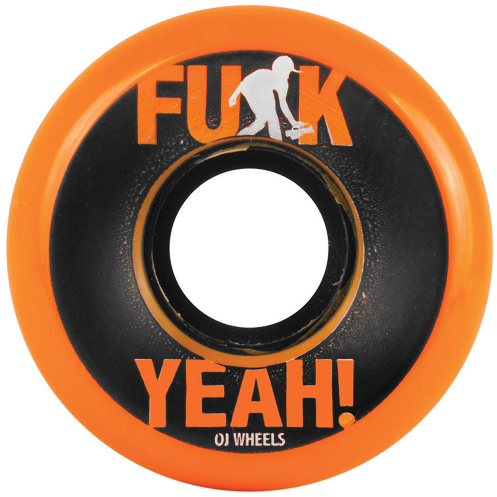 OJ Schmitty Keyframe - Orange - 54mm 87a - Skateboard Wheels (Set of 4)