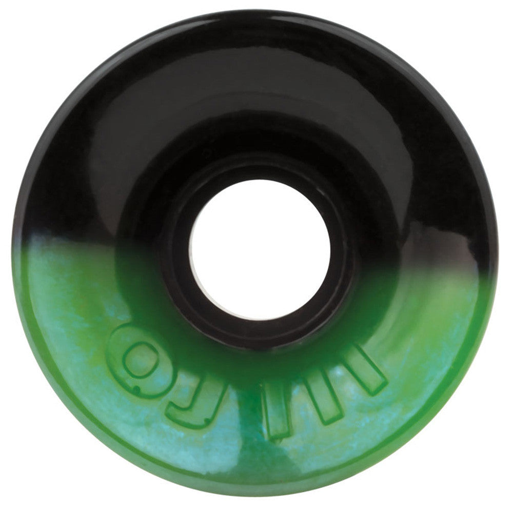 OJ Willis Kimbel Pro Hot Juice - 60mm 78a - 50/50 Green/Black - Skateboard Wheels (Set of 4)