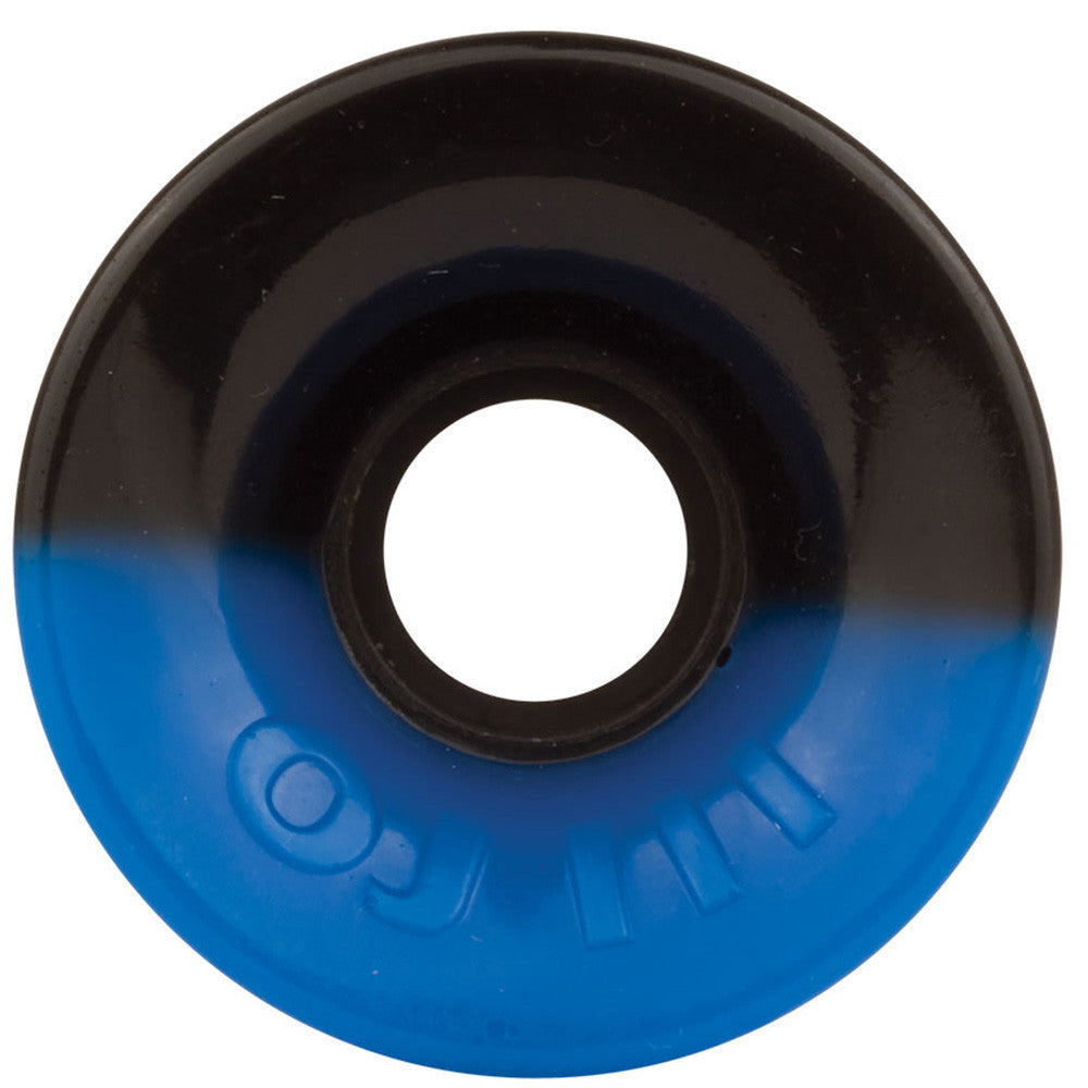 OJ Hot Juice - 60mm 78a - 50/50 Blue/Black - Skateboard Wheels (Set of 4)