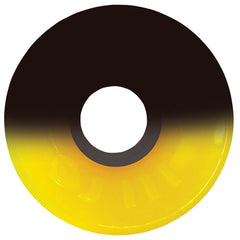 OJ Hot Juice - 60mm 78a - 50/50 Yellow/Black - Skateboard Wheels (Set of 4)