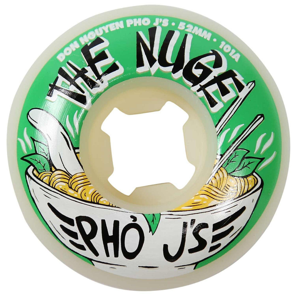 OJ Nuge Pho Js EZ Edge - 52mm 101a - Green - Skateboard Wheels (Set of 4)