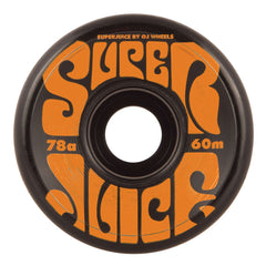 OJ Super Juice - 60mm 78a - Black - Skateboard Wheels (Set of 4)