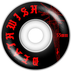 Deathwish Deadly Intent - Black - 53mm - Skateboard Wheels (Set of 4)
