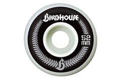 Birdhouse Crest - White - 52mm - Skateboard Wheels (Set of 4)