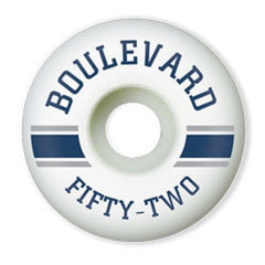 BLVD Mascot - White - 52mm - Skateboard Wheels (Set of 4)