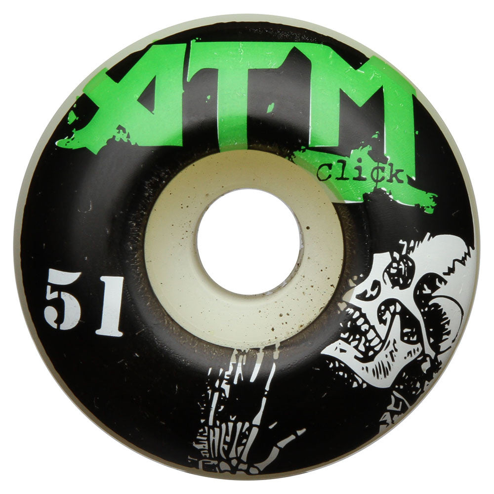 ATM Nevermind PP - White - 51mm - Skateboard Wheels (Set of 4)