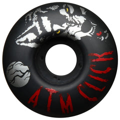 ATM Silver Wolf PP - Black - 53mm - Skateboard Wheels (Set of 4)