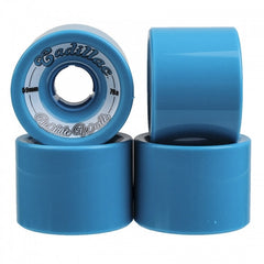 Cadillac Whitewall - Blue - 59mm - Skateboard Wheels (Set of 4)