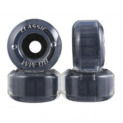 Kryptonics Classic - Clear - 80mm - Skateboard Wheels (Set of 4)
